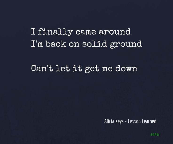 Lesson Learned lyrics - Alicia Keys feat. John Mayer ...
