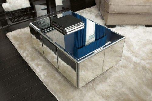 Cores da Casa: Mesa de Centro com Espelhos: Faça a sua