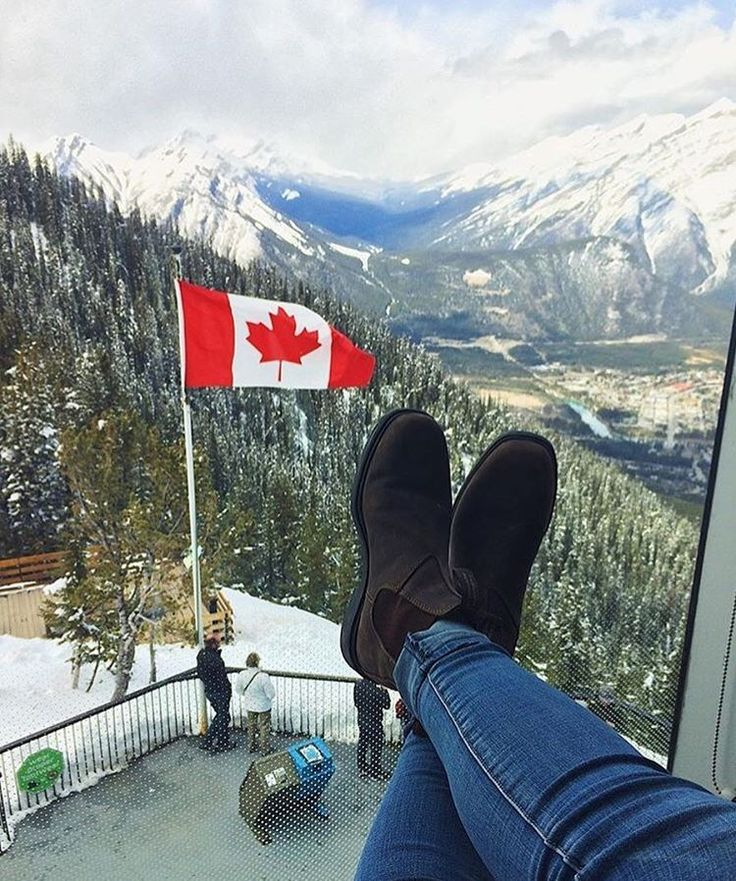Canadian views. : @thatssoosue  Location: Sulfur Mountain, #Banff, #Alberta