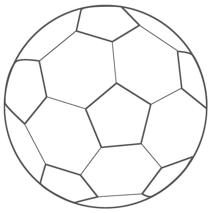Desenhos Para Colorir Bola De Futebol Bola De Futebol Imagem De
