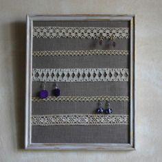 presentoir boucles d oreilles diy bijoux la mode. Black Bedroom Furniture Sets. Home Design Ideas