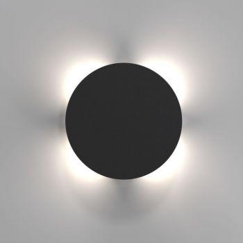 Nordlux LED Außenwandleuchte Uno Disc 7W 673Lm schwarz