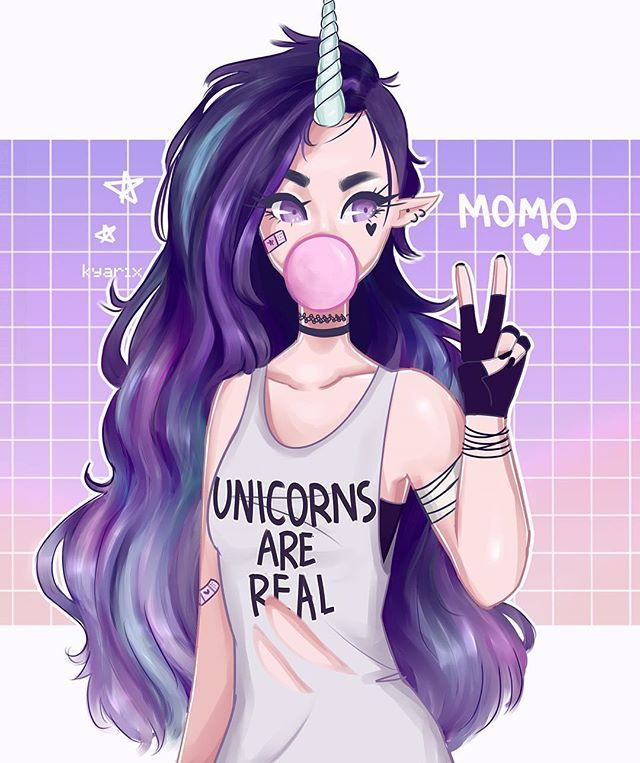 A very late bday present for @sunfwer ! ✨ ✨ the hair was a pain but I kinda like it?? Momos design is lit also @sunfwer is great yall should check her out  I know there are a lot of mistakes but meh  #art #semirealism #girl #originalcharacter  #artistsoninstagram #draw #rfr #pastel #doodle #sketch #unicorn #oc #r4r #blue #youngartist #bubblegum #sketching #doodling #illustration #digitalart #aesthetic #owncharacter #character #notmyoc