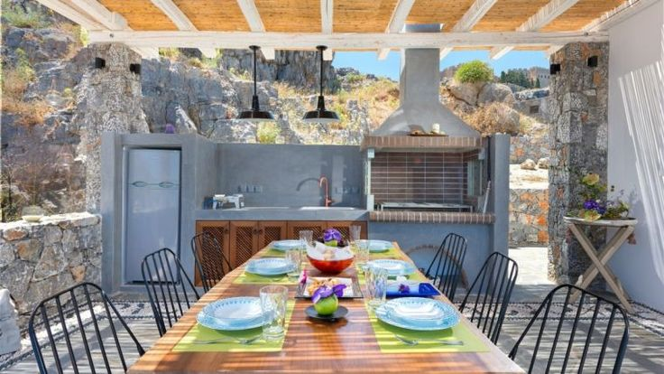 54 best images about outdoor kitchen ideas on pinterest - Amenager un petit jardin ...