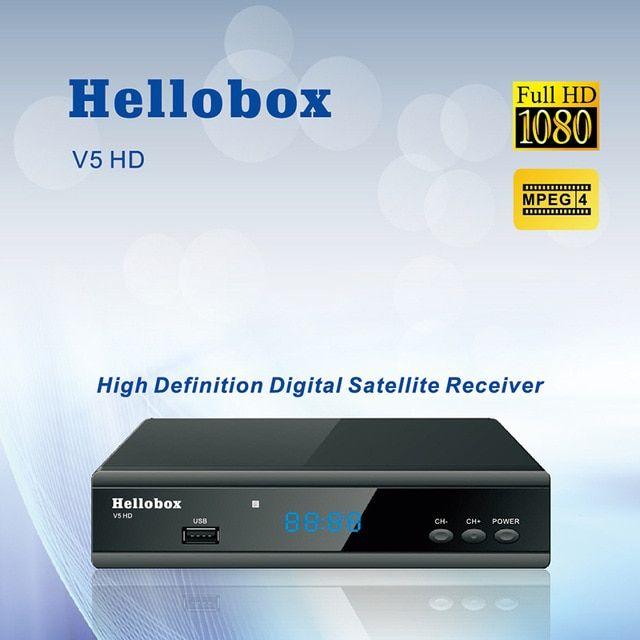Hellobox V5 Satellite Receiver DVBS2 IPTV For Cccam Function Online