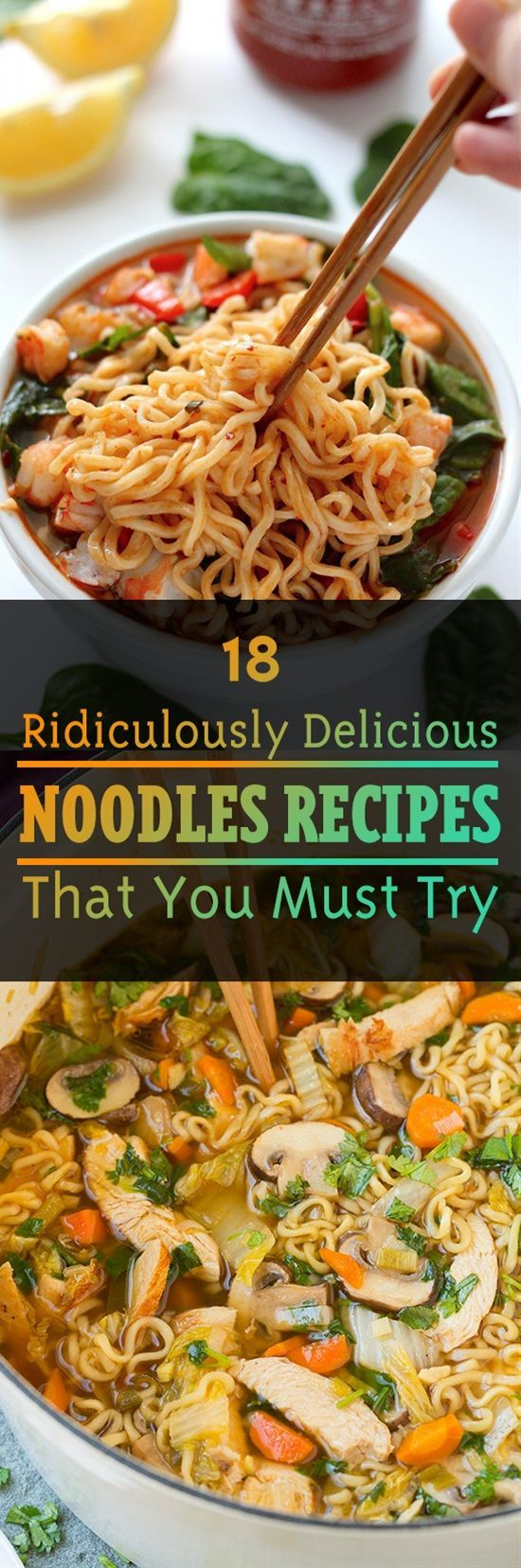 We all love noodles don't we? But packaged flavors that come with instant noodles don't even compare to what you can achieve at home. Here is our compilation of the best noodles recipes you can make that taste a million times better than instant noodles.