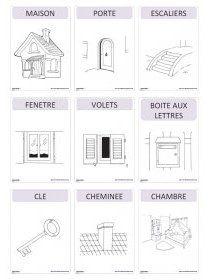 Librairie-Interactive - Imagier thématique : la maison
