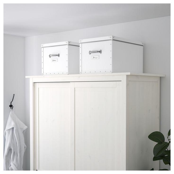 FJÄLLA Förvaringslåda med lock - IKEA