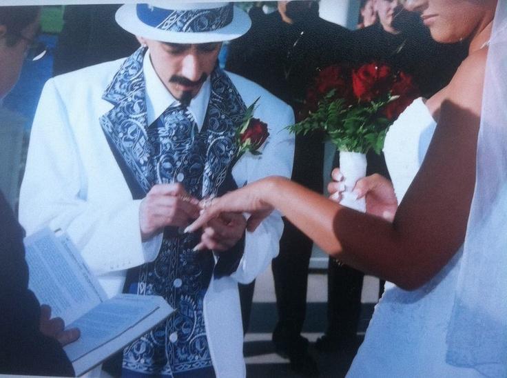 blue side por vida cholo sur side wedding chicana
