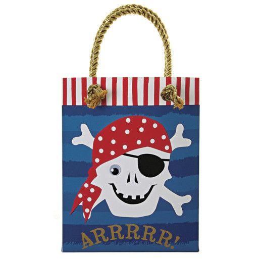 Piratenparty Geschenktuete Kindergeburtstag
