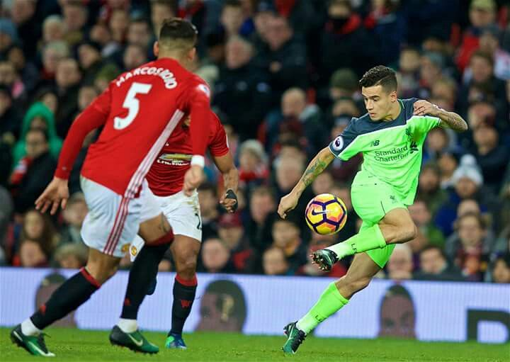 PL Manchester United vs Liverpool 1-1 - Philip Coutinho