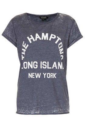 T-shirt dévoré «Hamptons»