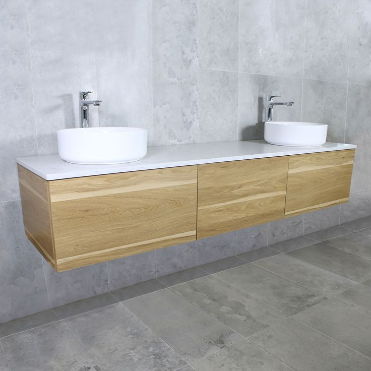 Eden Timber Wall Mount Vanity Cabinet without Top 2100mm