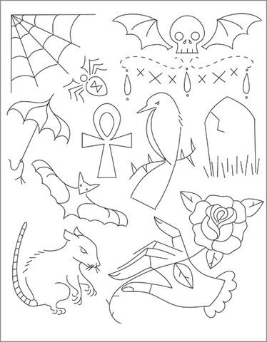 GOTHIC GRANDEUR - Embroidery Patterns