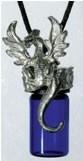 Wicca Supplies, Pagan Supplies, Witchcraft Supplies, Spiritual Supplies - New Awakening - Dragon Oil Bottle Necklace, $14.95 (http://www.wiccasupplies.ca/dragon-oil-bottle-necklace/)