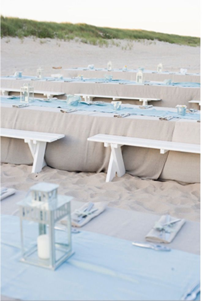 simple outdoor wedding ideas for summer%0A outdoor beach wedding reception idea that you can consider when hosting a  beach reception
