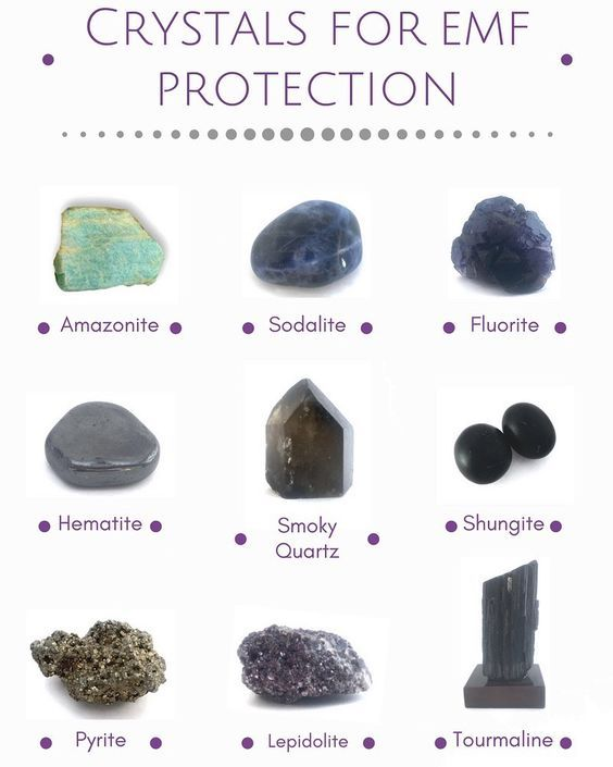 Crystals For EMF Protection | Crystals and Stones | Healing crystal