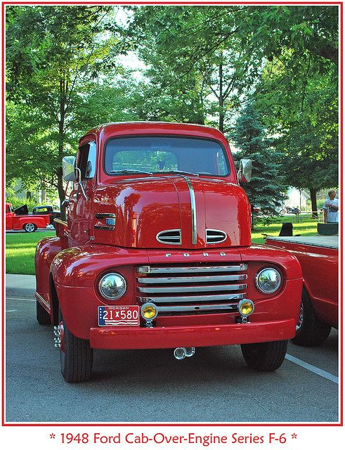 1948 Ford F-6 COE pickup. ....Like going fast? Call or click: 1-877-INFRACTION.com (877-463-7228) for local lawyers aggressively defending Traffic Tickets, DUIs and Suspended Licenses throughout Florida