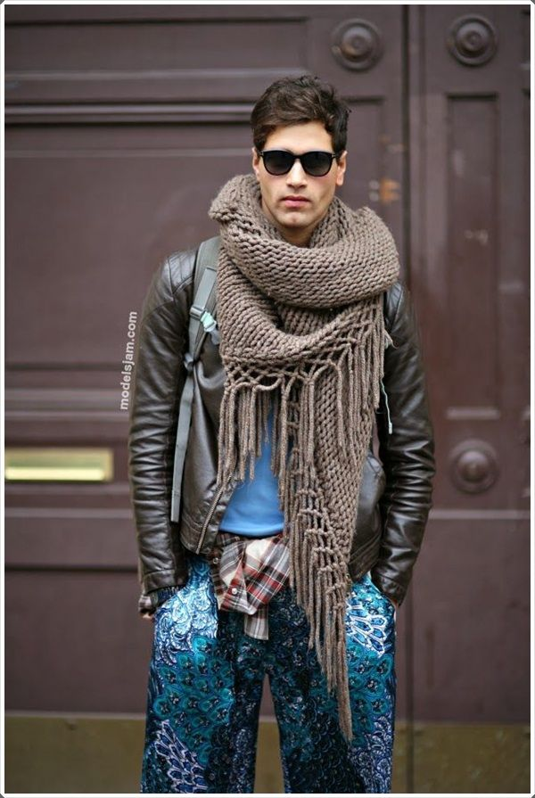 9f659e299 40 So Stylish Winter Scarfs For Men to Try this Year | Style Men | Fashion,  Gypsy men, Scarf styles