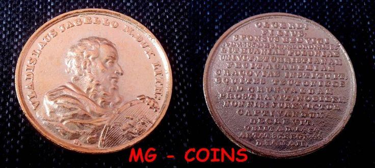 Medal-Numizmat -Suita Królewska-Władysław Jagiełło