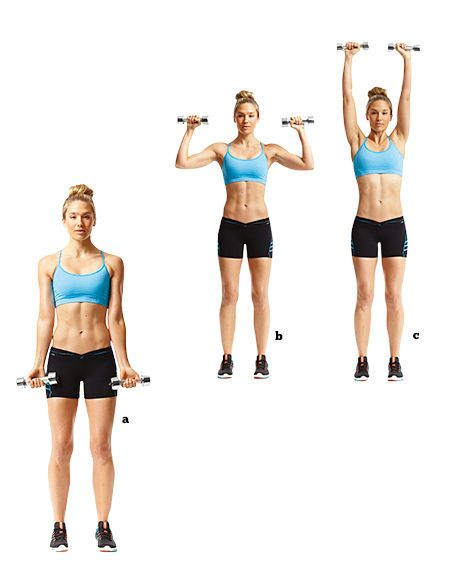 I love this exercise! Great for biceps & shoulders! The 10 ...