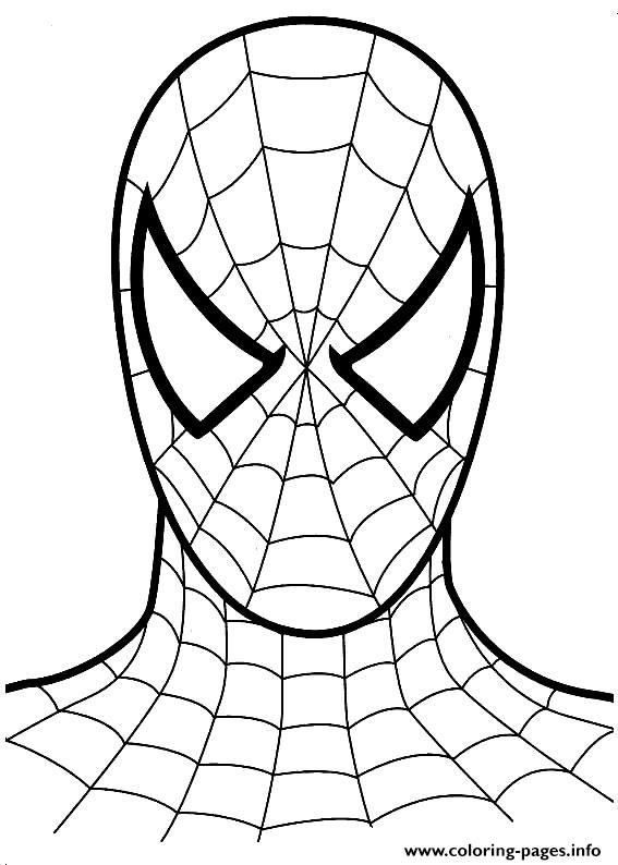 8400 Top Spiderman Coloring Pages Easy  Images