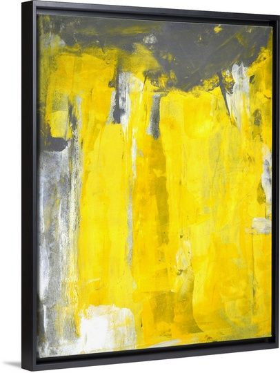 68 best Yellow Abstract Art images on Pinterest