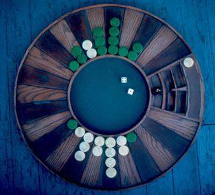 The ultimate backgammon board