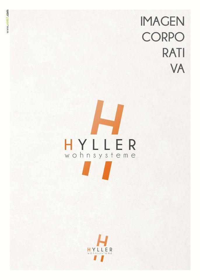 Logotipo de Hyller Creado por Vinti7 http://vinti7.com/hyller-wohnsysteme/