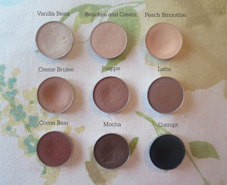 Makeup Geek Neutral Pans