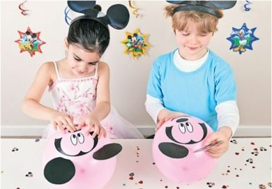Gra dla dzieci STWÓRZ MYSZKĘ MICKEY - idealna na urodziny dziecka