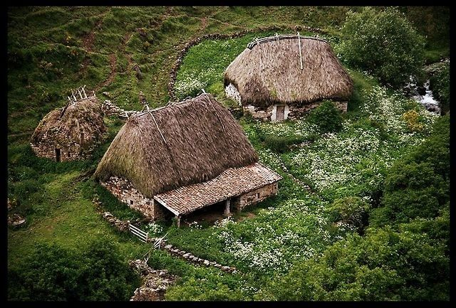 Vikings home and village