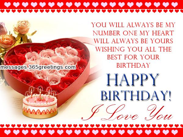 The 25 best Romantic birthday messages ideas – Greeting Messages for Birthday