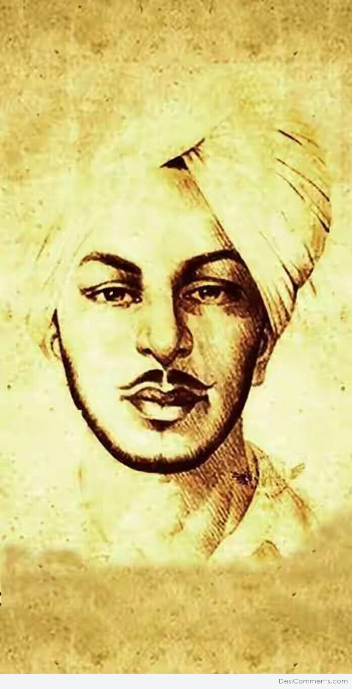 Bhagat Singh | Mobile Wallpapers | HD Phone Wallpapers
