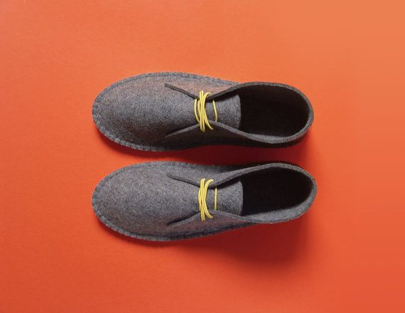 Felt House Shoes by CosmicArms