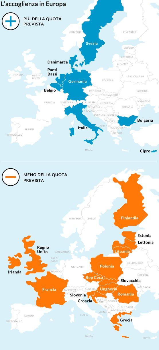 L'Europa dei rifugiati: ecco chi accoglie e chi no - Repubblica.it