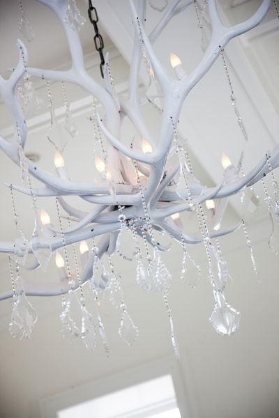 I NEED this for the babies room! WSH Antler Chandelier by Paul Allen Design