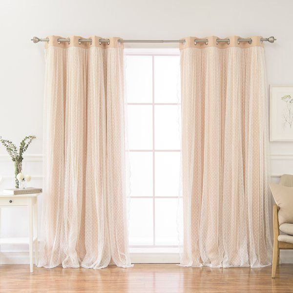 Holland Solid Color Room Darkening Thermal Grommet Curtain Panels