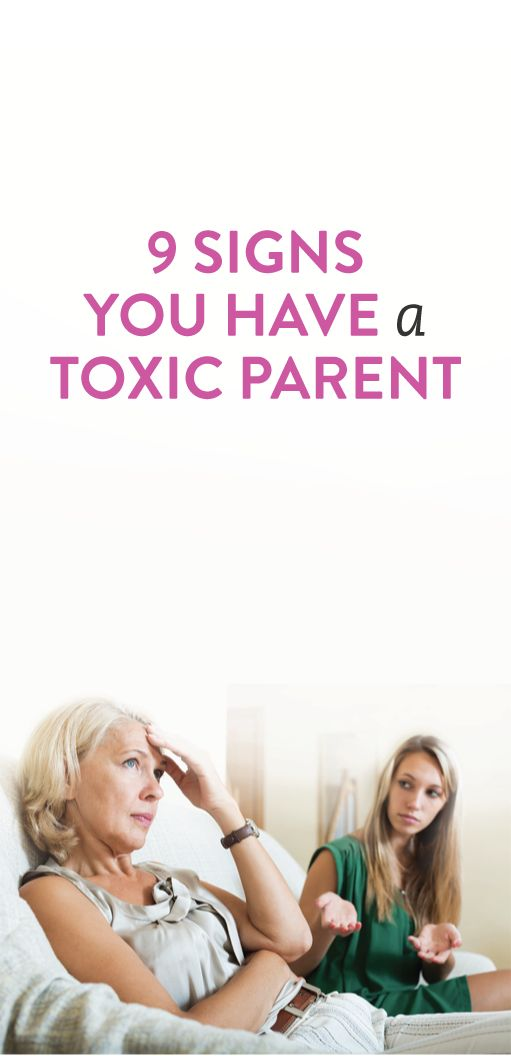 toxic parents Are you treating your kids like kids — or like your therapist here are the signs of toxic parenting to watch out for.