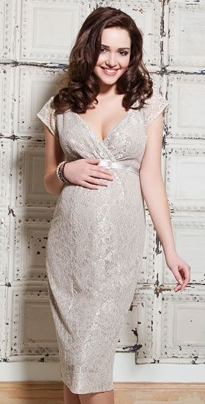 Platinum Maternity Dress