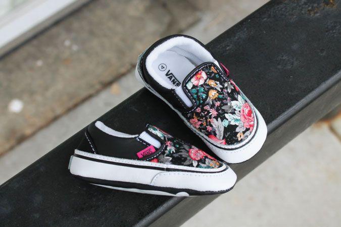 Little floral baby @vans <3