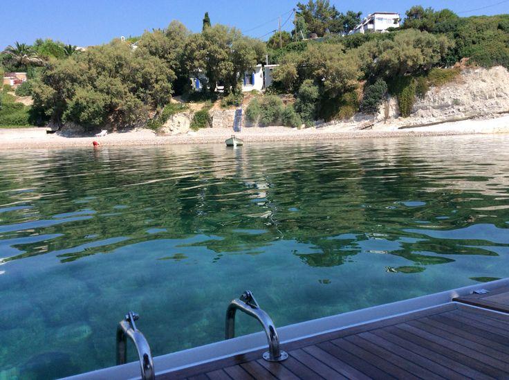 My ..... pool !!!! Agia Fotini @ Chios