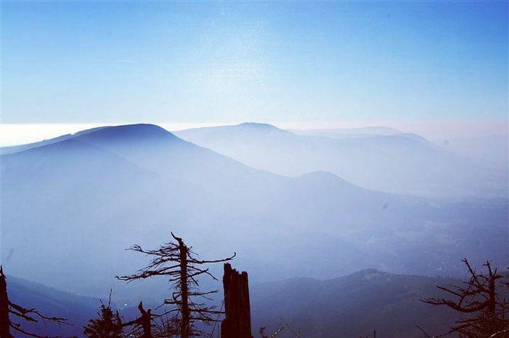One of my favourite photos of view from the highest peak in the Beskydy mountains #gowondergirls #letsgowonder #wanderingdarlings #lovetravel #travellovers #destination #seetheworld #travelphoto #travellife #permanenttourist #lifewelltravelled #traveladdict #traveldiary #nomad #wanderlust #lysahora #lysáhora #mountainview #clouds #memories #hiking #sky #beskydy #beskyd #moraviaselesia #moravskoslezskykraj