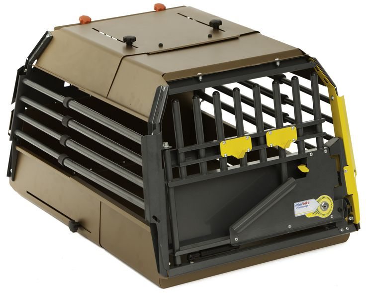 MIM Safe Variocage – The Most Rigorously Crash Tested and Proven Dog Transport Crate in the World Accidents happen, don't leave their lives to chance... Protect yourself, your family and your pet from