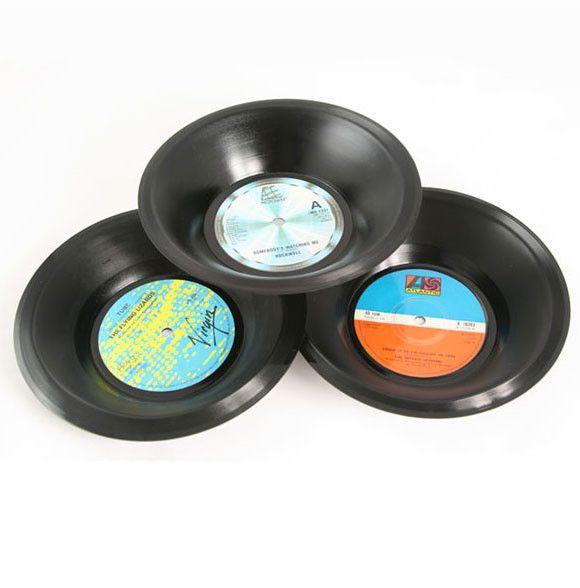Vinyl Bowl Recycled | Opuszone.com