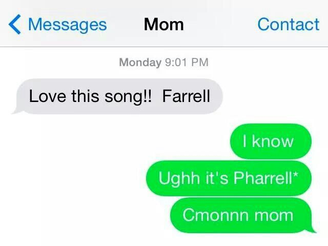 Totally a mom thing.