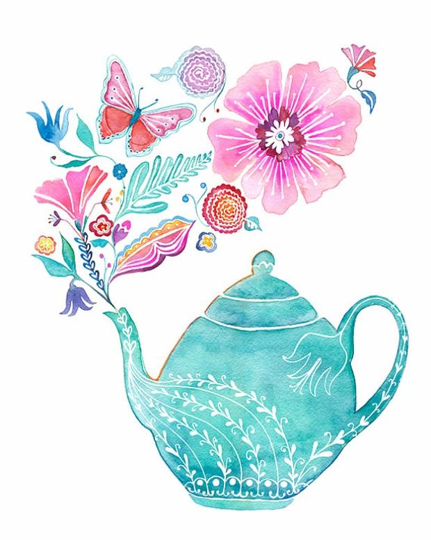 Jess Loves Fred: Tea Time