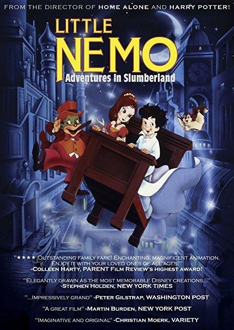 Mickey Rooney & Rene Auberjonois & Masami Hata & William T. Hurtz-Little Nemo: Adventures in Slumberland