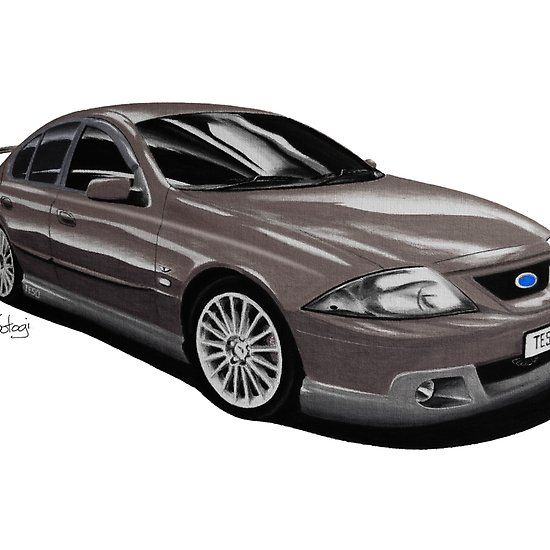 Ford FTE TE50 T3 Meteorite #ford #falcon #pencil #pencilsketch #artwork #drawing  #carart #cardrawings #automotiveart #australiancar