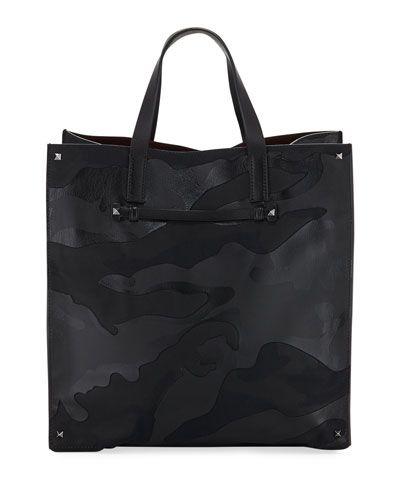 Men's Camo Tote Bag